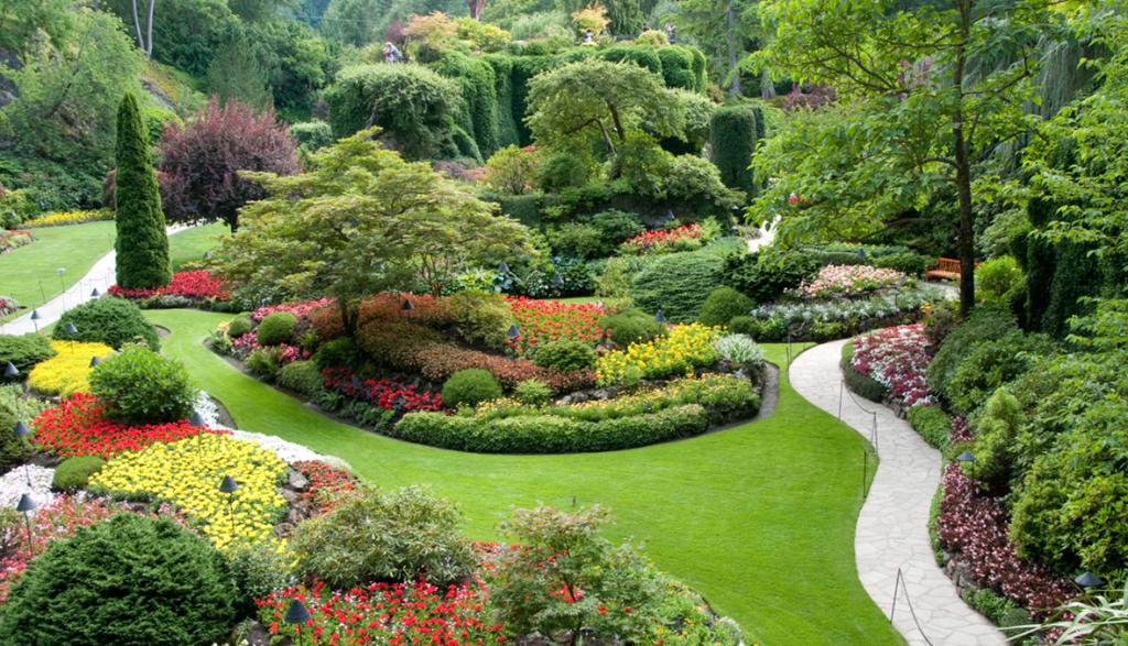 التوتر و زيارة الأماكن الخضراء