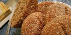 طريقة عمل خبز الشعير الطبيعي