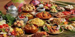 أكلات من جميع بلدان العالم