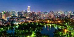 أين تقع مدينة بانكوك