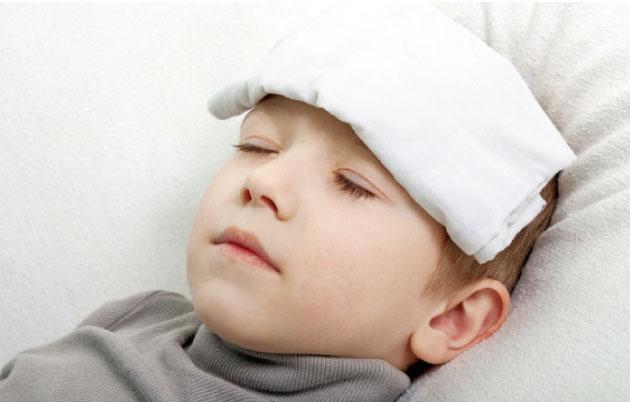 التهاب القصيبات الحاد عند الرضع