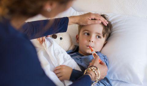 الانفلونزا عند الاطفال