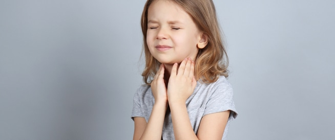 الذبحة الصدرية والتهاب الحلق عند الأطفال